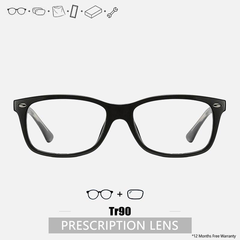 Rectangle Frame Prescription Glasses Blue Light Glasses Square Luxury Designer Custom Prescription E