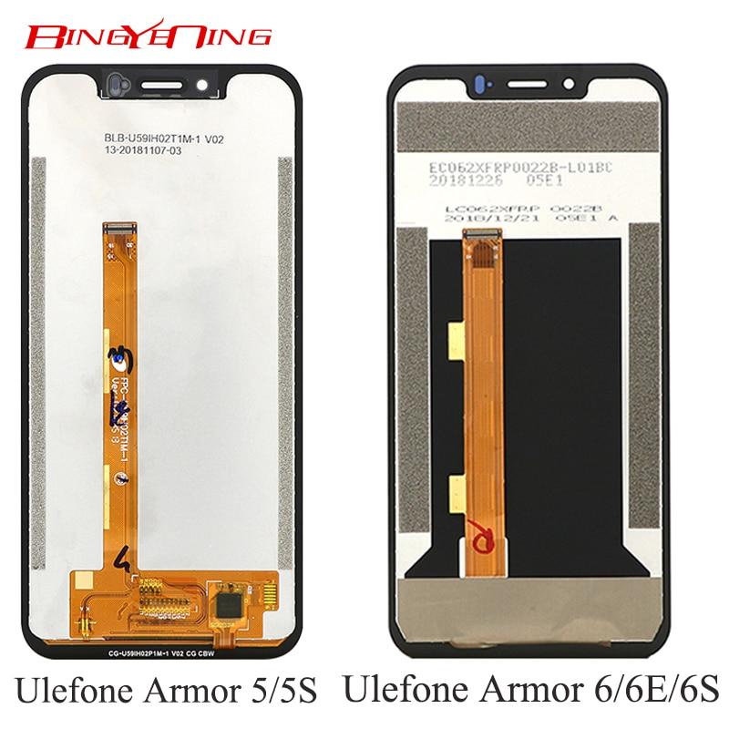ل Ulefone Armor 5/5s LCD & محول الأرقام بشاشة تعمل بلمس عرض ل Ulefone Armor 6/6E/6S LCD & محول الأرقام بشاشة تعمل بلمس عرض