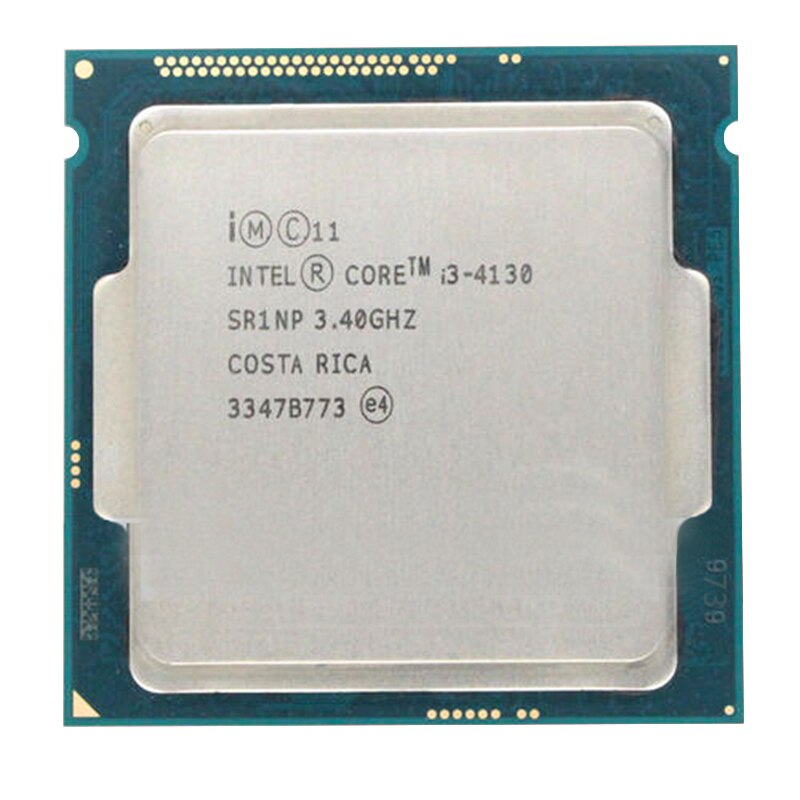 Процессор Intel Core i3 4130 3,40 ГГц 512KB/3 Мб, разъем LGA1150, 2 ядра, 2 нити, Процессор Haswell SR1NP