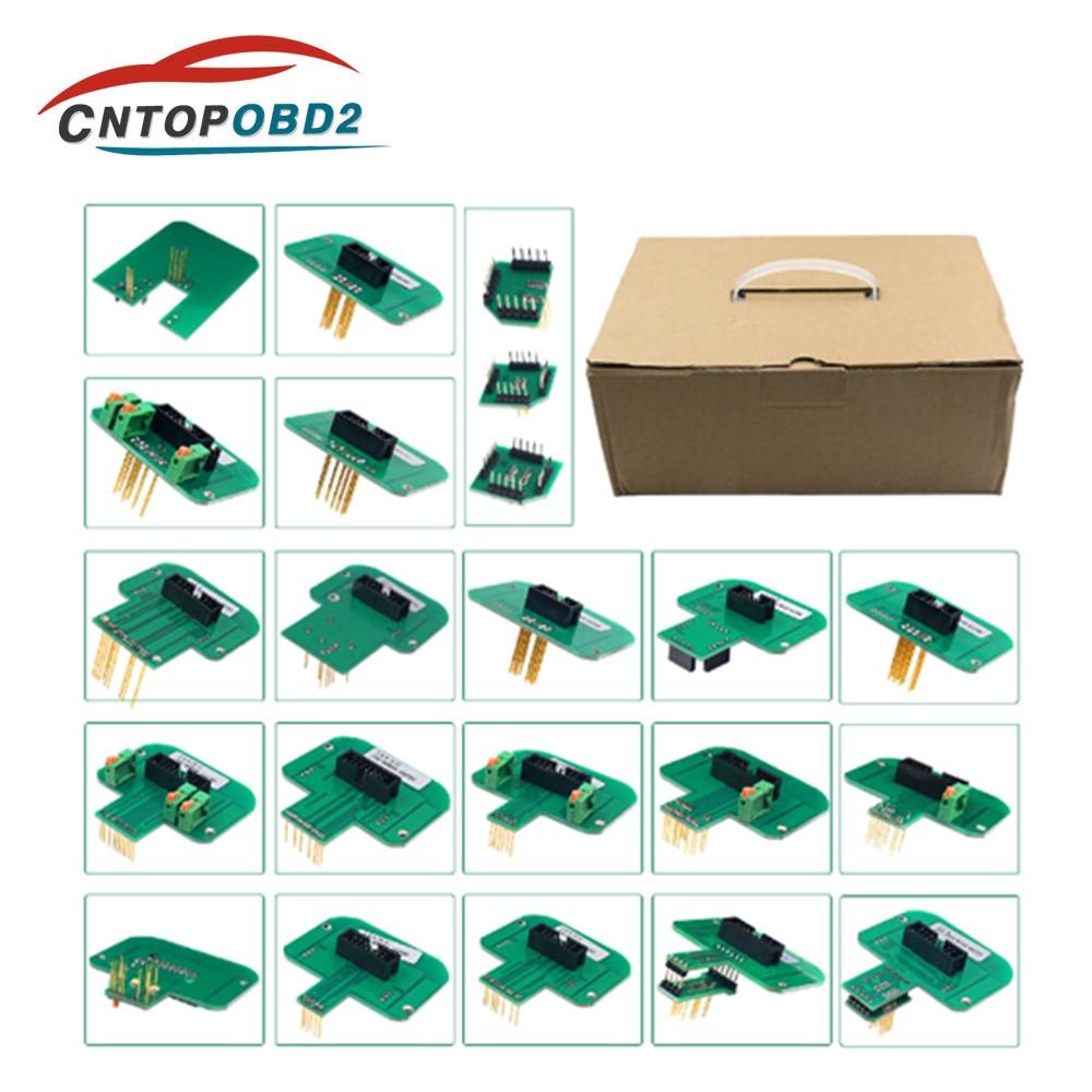 22 قطعة BDM محولات KTAG KESS ل Dimsport BDM التحقيق محولات مجموعة كاملة LED BDM الإطار ECU المنحدر محولات ECU رقاقة ضبط اختبار