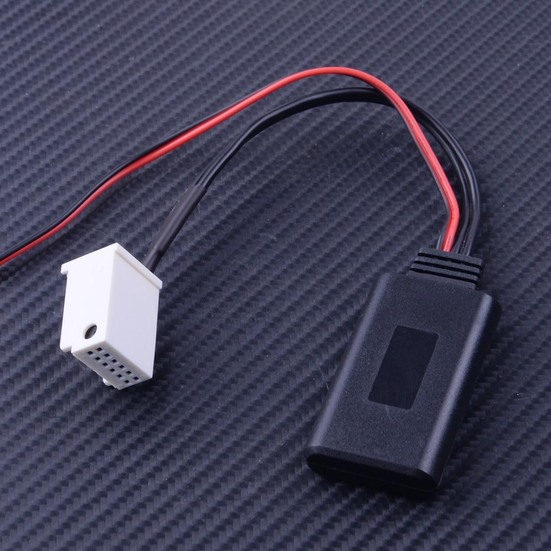 12V Cable adaptador Aux 12 Pin ajuste para Mercedes Benz W169 W245 W203 W209 R230 W221 W251 W164 X164