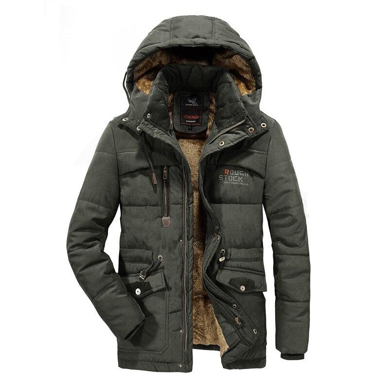 Men Winter Jacket Thicken Warm Parka Windbreaker Coat Military Outwear New Male High Quality Hooded Overcoat Big Size 7XL 8XL
