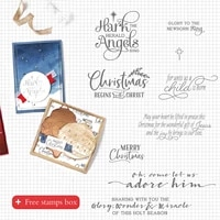 christmas clear stamps templates for diy scrapbooking album transparent stamp supplies for handicrafts cards gifts decor