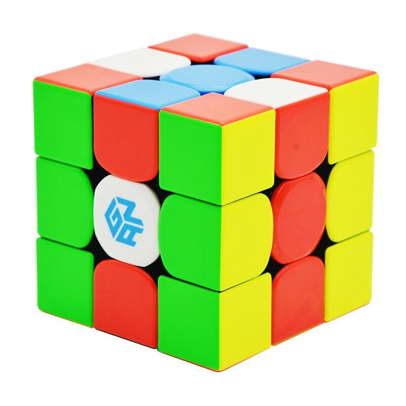 GAN354M V2 3x3x3 Cube magique sans colle magnétique Gan 354 V2M Puzzle Cube de vitesse pour WCA professionnel Cubo Magico Gan 354 M jouets