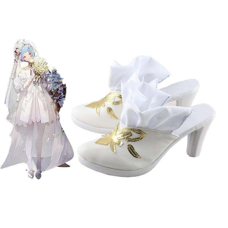 أحذية تنكرية للفتيات ، أحذية على الطراز التنكري ، أحذية مصنوعة حسب الطلب ، زي الهالوين ، خط أمامي ، أنيمي ، للجنسين ، Zas m21