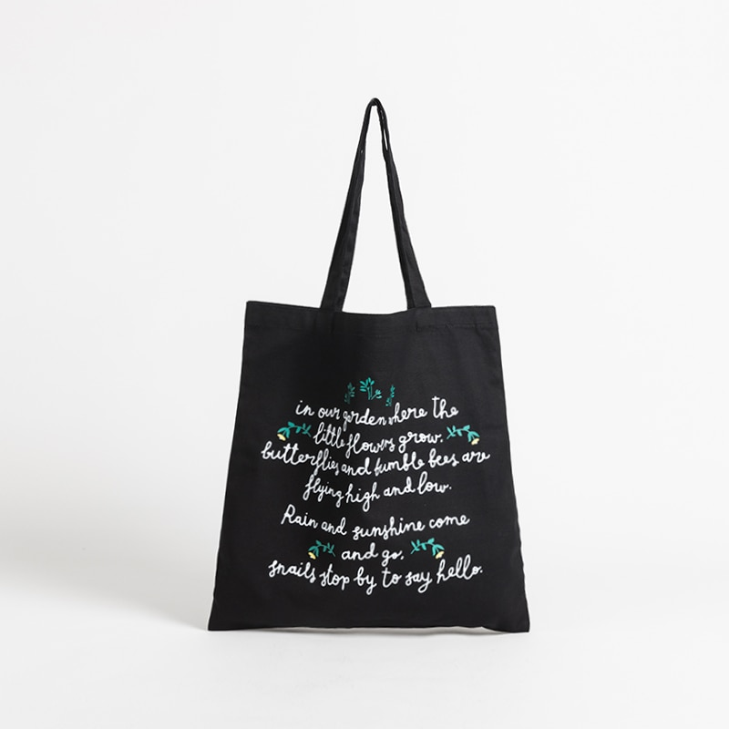 Women Minimalist Graphic Tote Shopper Bag Reusable Eco Friendly Canvas Student Book Bags Large Size Casual Work Handbag