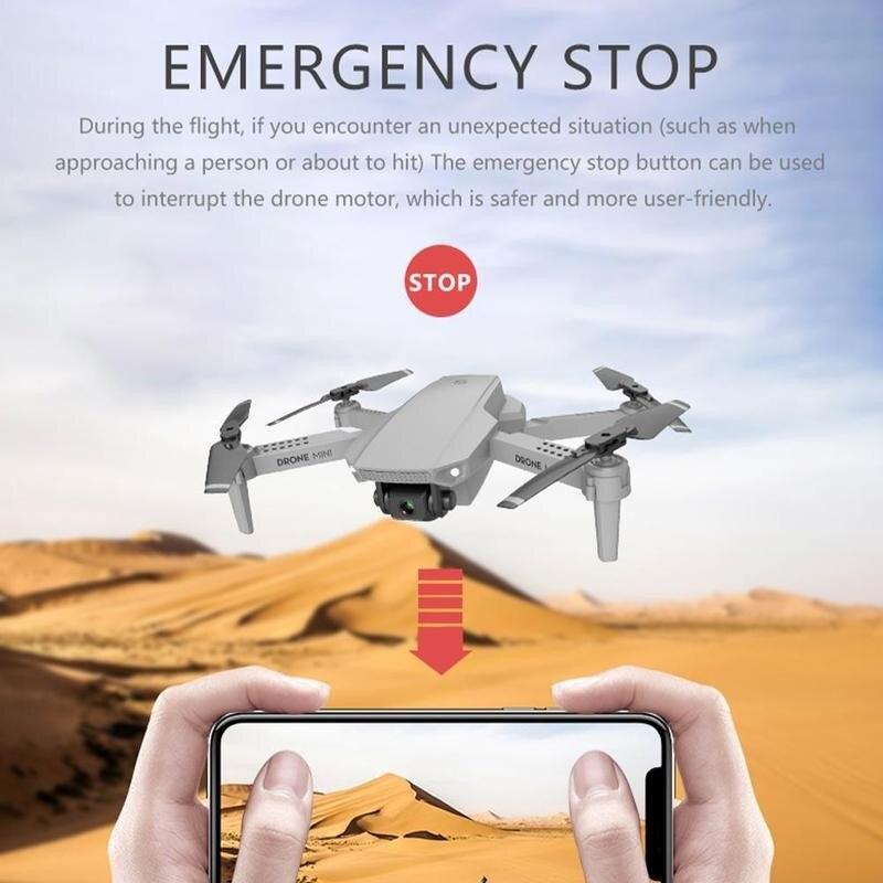 E88 Drone 4K HD Wide-angle Camera Drone Wifi 1080p Follow Drone Quadcopter RC Transmission Me FPV Real-time