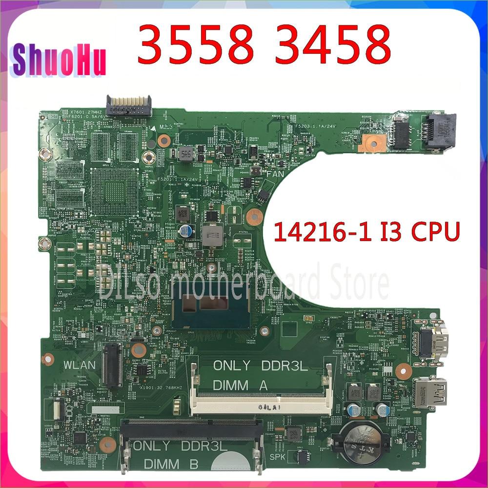 I3 Cpu 14216-DDR3 HM76 1 CN-0CW4DH Para Dell Inspiron 3558 3458 Motherboard Intel Integrado 60 Dias