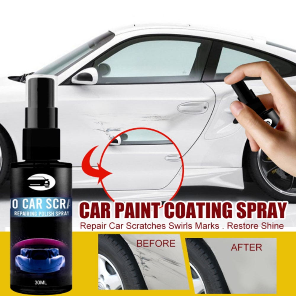 Car Scratch Repair Nano Spray Anti Scratch Coating Auto Lacquer Paint Care Polished Glass Coating Wash Tool