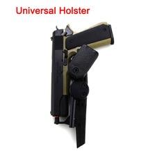 Airsoft Ipsc Pistool Holster Cr Speed Stijl Universele Holster Verstelbare Riem Gun Pistol Case Cover Tactical Hunting Accessoires
