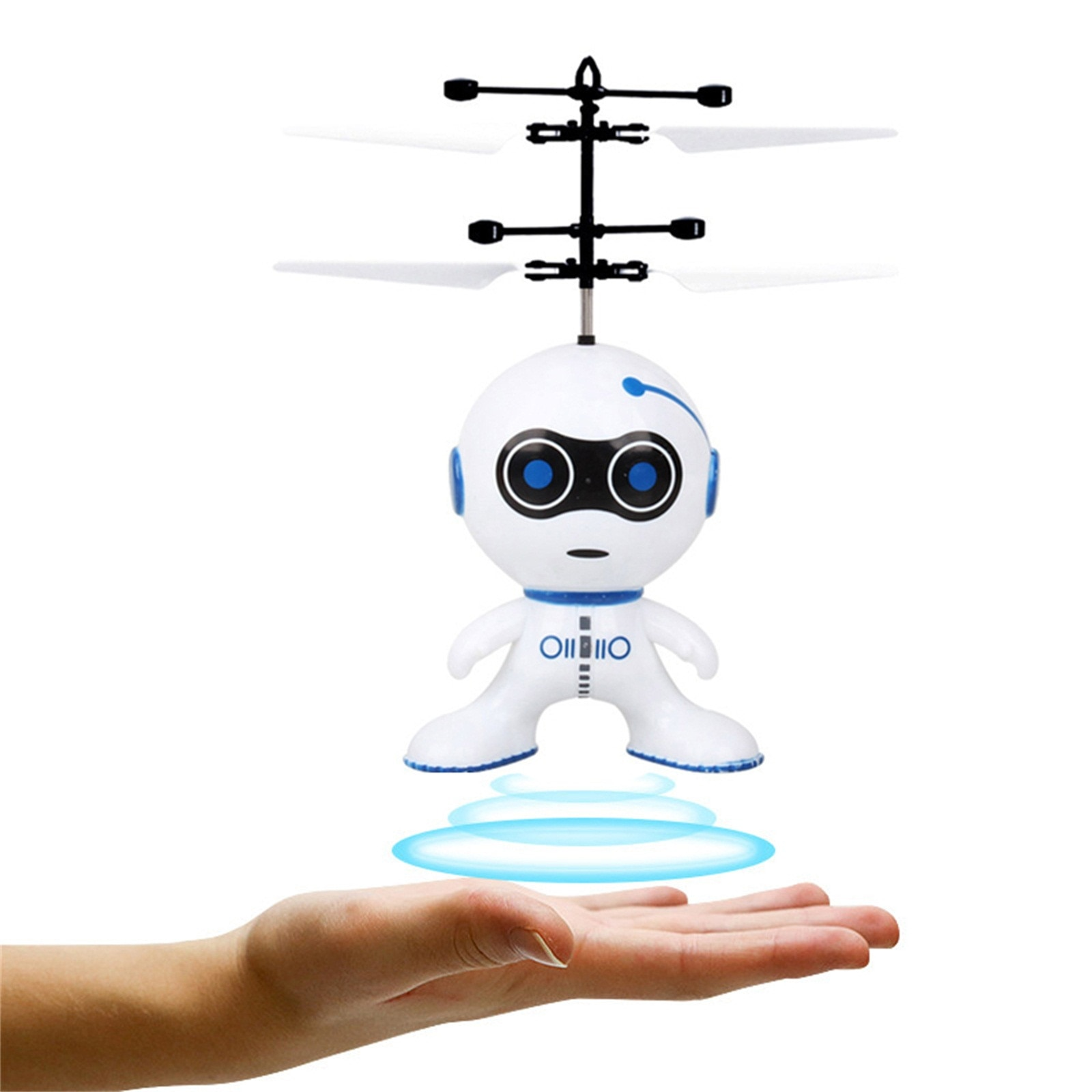 Mini Induction Flying Robot 2CH Gyro Helicopter Drone USB Protection Christmas Electric Gifts Stress Fidget Toys Wholesale!