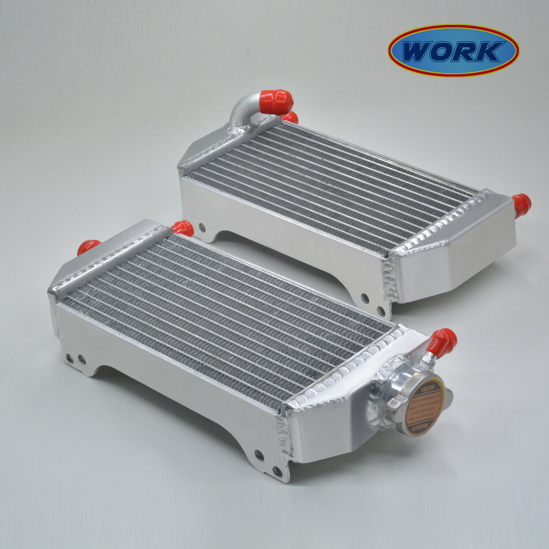 R & L de aleación de aluminio de radiador para Suzuki RM250 2-STROKE 2001, 2002, 2003, 2004, 2005, 2006, 2007, 2008
