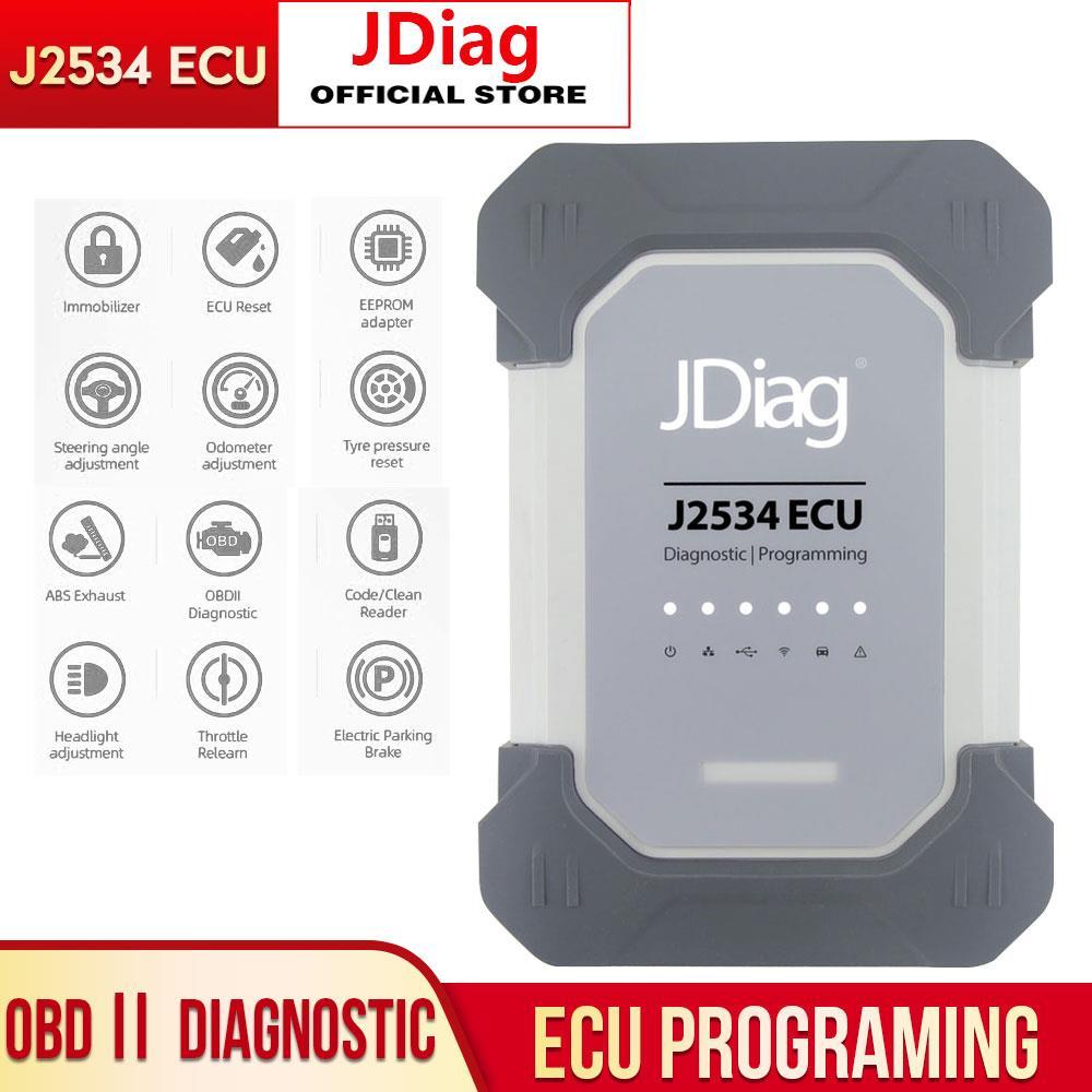 Original ECU Programming for Prosche Car Diagnostic Tool Professional ECU Programmer for JDiag Elite II J2543 Code Reader