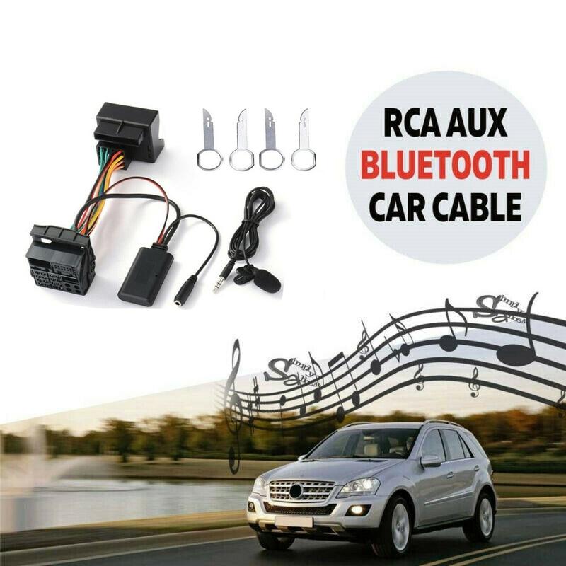 Carro o adaptador de cabo bluetooth para ford fiesta foco mondeo kuga sony 6000cd rádio musik stream