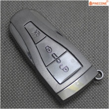 PINECONE do garaży Morris MG MG 6 MG6 Roewe 550 E550 klucz 3 przycisk Uncut Blade zastąpić pilot z kluczykiem samochodowym Shell obudowa pokrywy