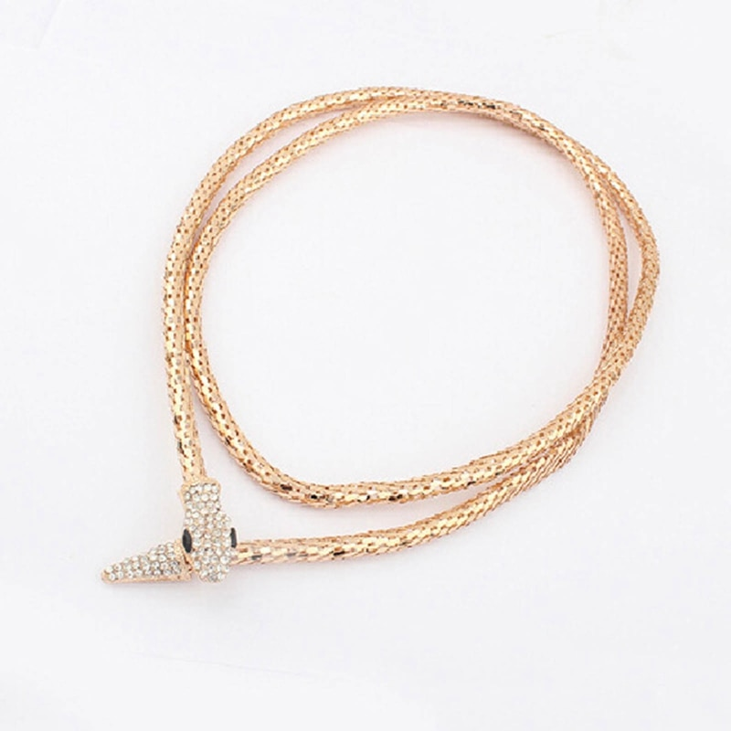 Collar gótico de serpiente para Mujer, gargantilla de Navidad, joyería estética, cadena...