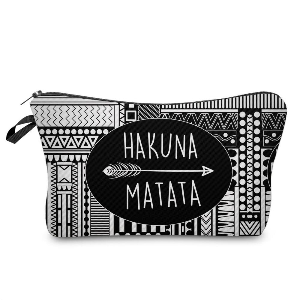 Fashion Letter Printed Cosmetic Organizer Bag Portable Women Makeup Bags Hot Sale Women Travel Stora