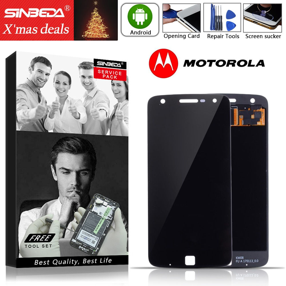 "5.5"" AMOLED For Motorola Moto Z Play XT1635 LCD Display Touch Screen Digitizer For MOTO Z Play LCD Screen XT1635 XT1635-02 LCD"