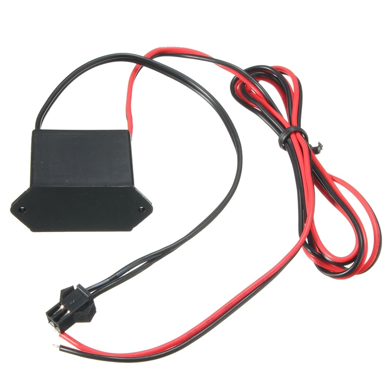 DC 12V Mini Neon EL Wire Power Driver Controller for 1-10M LED Light Inverter Supply Adapter Flexible
