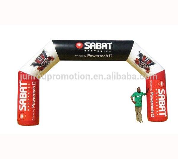 Arco deportivo inflable, arco inflable personalizado para alquiler de AR-12