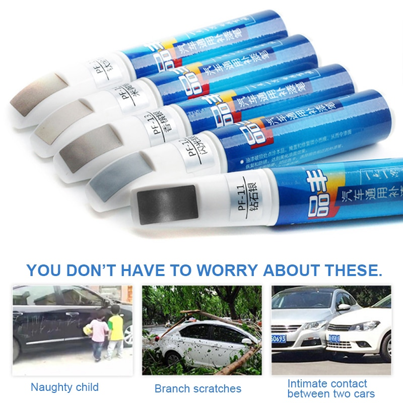 Smart Fix Pro Car Auto Paint Scratch Repair Remover Touch Up DIY Pen GR4 Car Wash & Maintenance Paint Care Car Accessories