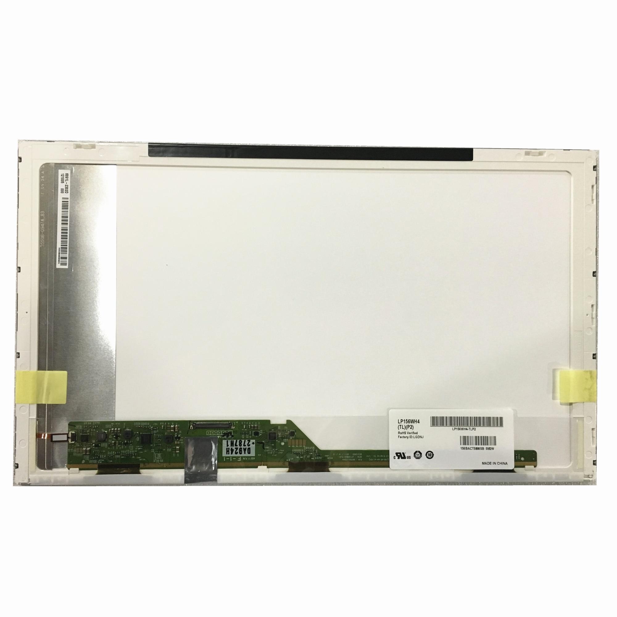 Envío Gratis LP156WH4-TLP2 LP156WH4 TLP2 TLP1 LP156WH4 TLN2 B156XW02 LP156WH2 pantalla Lcd de ordenador portátil 1366*768 40 pines