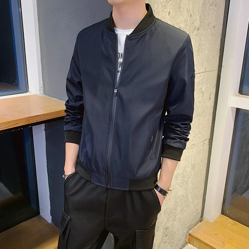 Мужская модная куртка и пальто, новая мужская ветровка, осень 2021, Мужская Уличная одежда, повседневная Уличная одежда, 6503