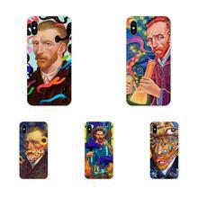 Artistic Vincent Van Gogh Print Skin Pattern For Xiaomi Mi3 Mi4 Mi4C Mi4i Mi5 Mi 5S 5X 6 6X 8 SE Pro