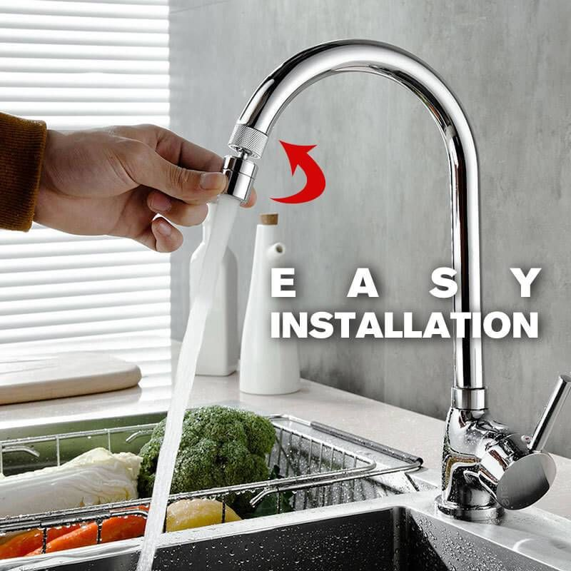 Фильтр для смесителя под давлением, насадка высокого давления, фильтр для крана, удлинитель для крана, аксессуары для ванной и кухни