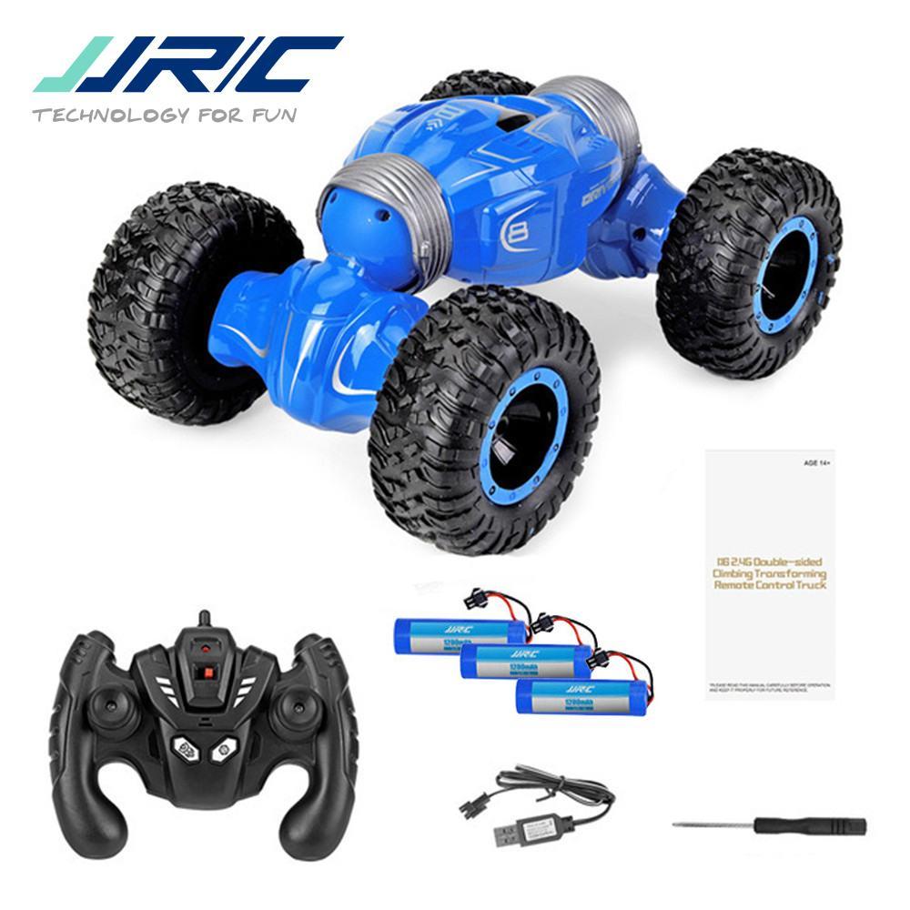 JJRC Q70 1:16 2.4GHz 4WD الصحراء على الطرق الوعرة عالية السرعة تسلق راديو التحكم عن بعد سيارة نموذج RC سيارات لعب للبنين