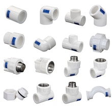 1/2 3/4 inch Dn20 Dn25 Ppr Water Pipe Pipe Fittings Accessories Pipe Household Tap Water Hot Melt He