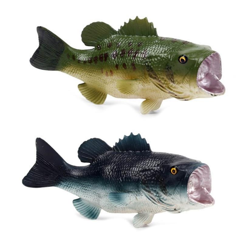 w3jf artificial realista peixe simulado modelo de peixe grande boca baixo para decoracao