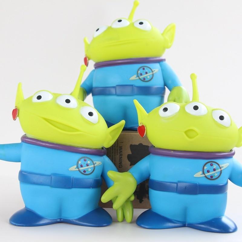 15cm Toy Story Alien Figures PVC Alien Action Figure Doll Anime Kids Toys Gift with Opp Bag