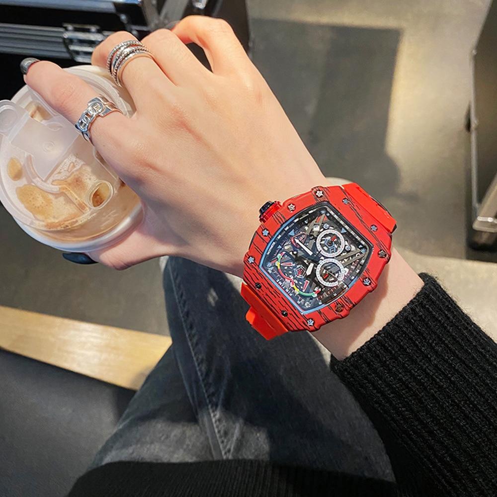 2021 new luxury quartz watches ladies men's sports automatic watches ladies watches designer watches waterproof Reloj Hombre enlarge