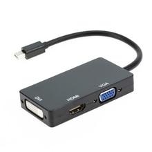 Thunderbolt 2 Port Cable Adapter For Mac Pro Air DP To HDMI/VGA/DV Mini Displayport
