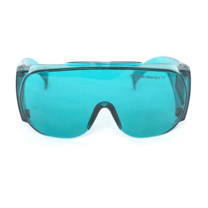 Лазер защитный очки 190-380 нм +600-760 нм OD4% 2B EP-2-6 широкий спектр непрерывный поглощающий защитный очки