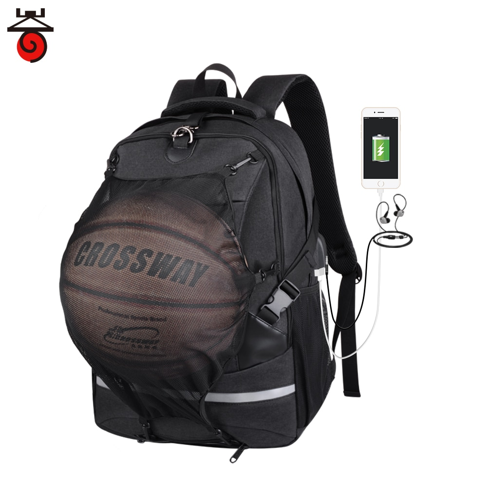 2021 New Men Sport Backpack Travel Backpack Teenager Bookbag School College Bag Pack Basketball Back