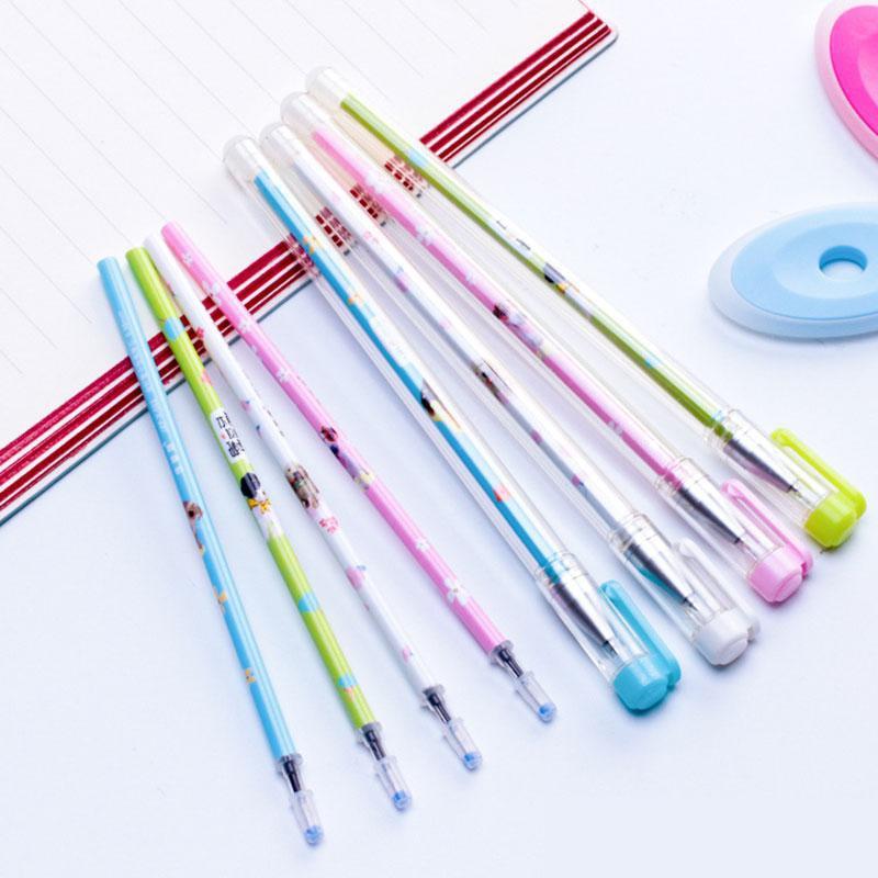 12PCS Heat Erasable Pens for Student School Black or Blue Pens for Kids Home VH99