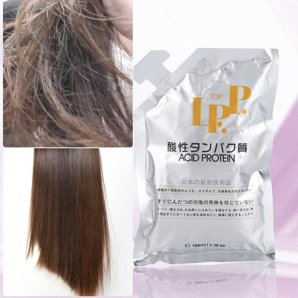 Mascarilla para el cabello, 100ml, suave y liso, tratamiento nutritivo para reparación...
