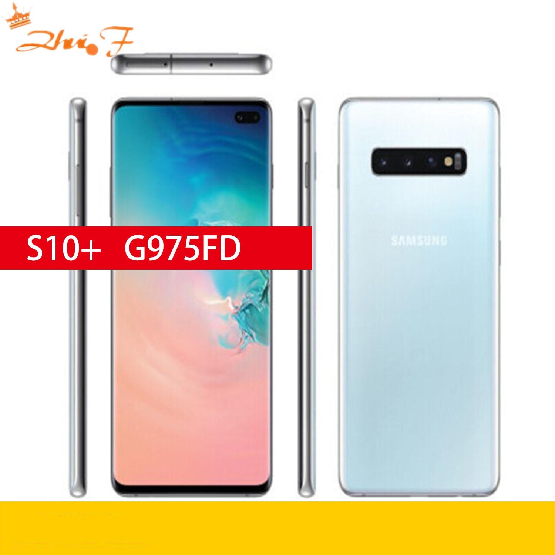 Samsung Galaxy S10+ S10 Plus G975FD Dual Sim 128GB ROM 8GB RAM Octa Core 6.4