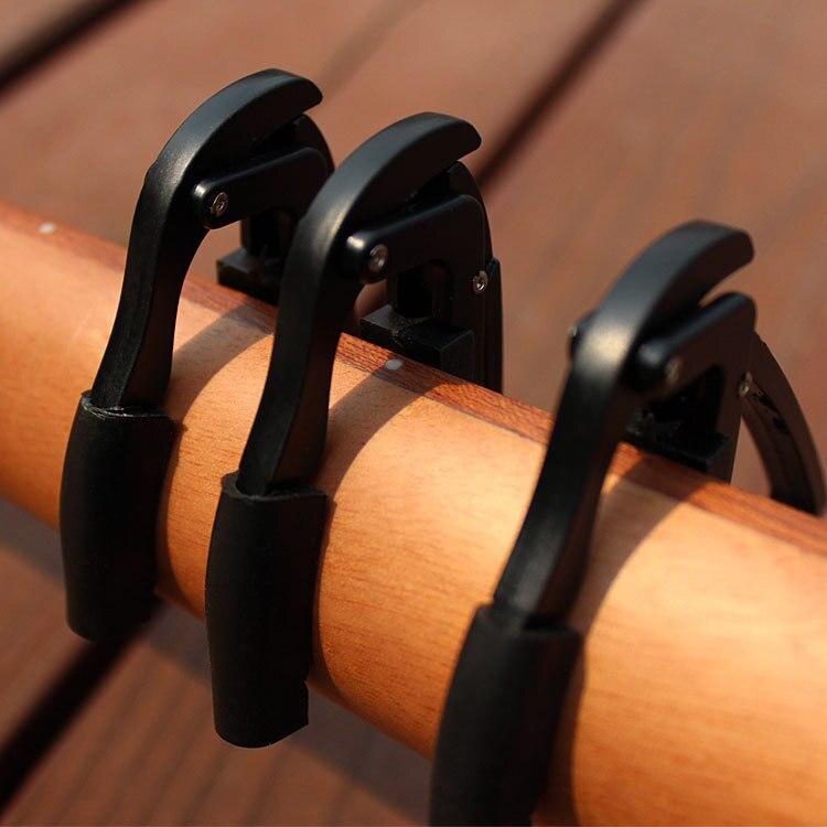 Accesorios de guitarra ukelele guitarra capo Durable Violao Tune Quick cejilla de cambio pinza de llave de alta calidad