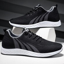 2021 Spring and Autumn Fashion Comfortable Flat Breathable Running Shoes Casual Men's Outdoor Sports