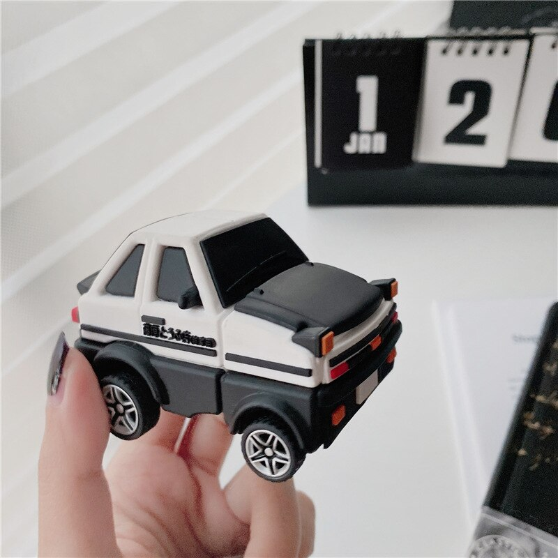 Initial D AE86 3D Super car case for Airpods 1 2 3 Pro Earphone Box Cover 3D Soft Bluetooth Wireless Protect Case for Airpod enlarge