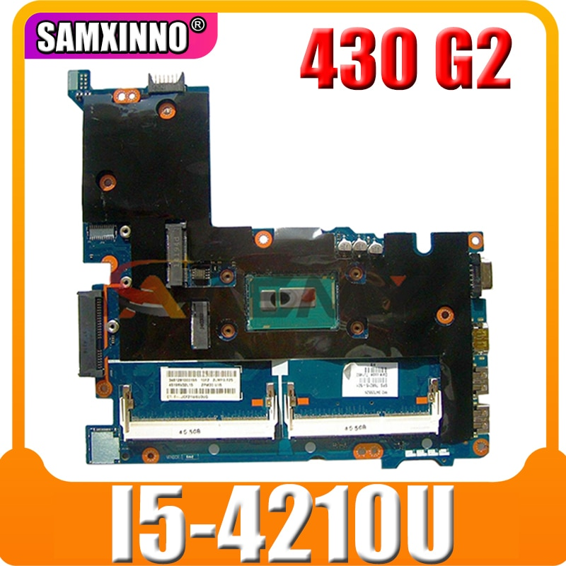 AKemy محمول لوحة رئيسية لأجهزة HP Probook 430 G2 I5-4210U اللوحة ZPM30 LA-B171P SR1EF DDR3
