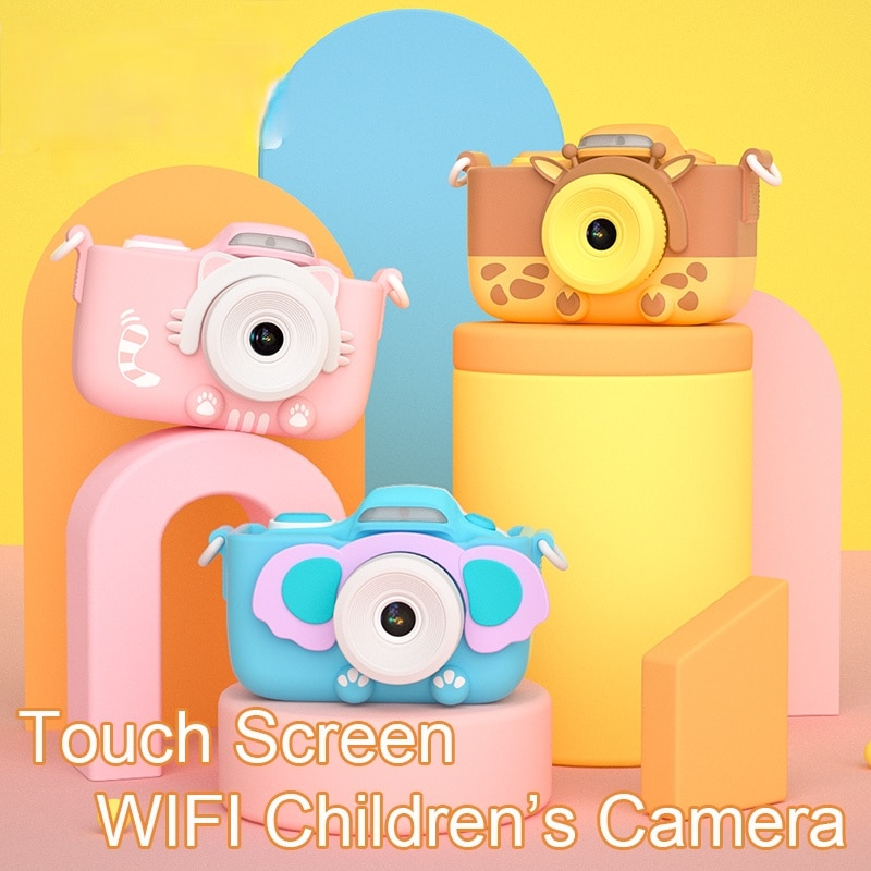 Kids Camera Touch Screen Digital 4K Camera 42 Million Camera WiFi Front Camera Toy Girls Kids Gift enlarge