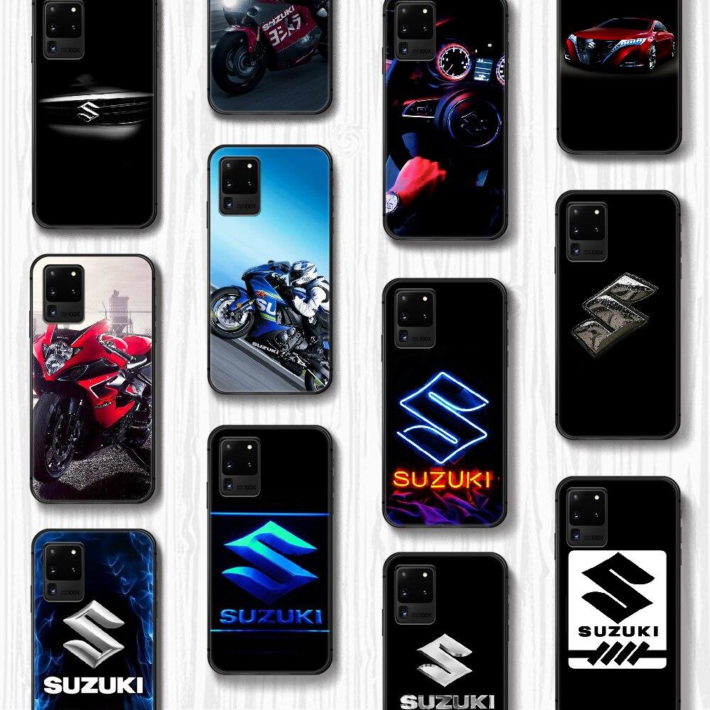 SUZUKI Car logo Phone Case Cover Hull For Samsung Galaxy S 6 7 8 9 10 e 20 edge uitra Note 8 9 10 pl