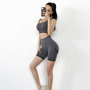 Push Up Seamless High Waist Shorts Women Yoga Shorts Female Gym Workout Tights Fitness Shorts Running Clothes