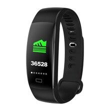 Mijiao Smart Bracelet F64 Blood Pressure Fitness Tracker Smart Watches Men Heart Rate Monitor Waterproof Smart Wristband Tracker