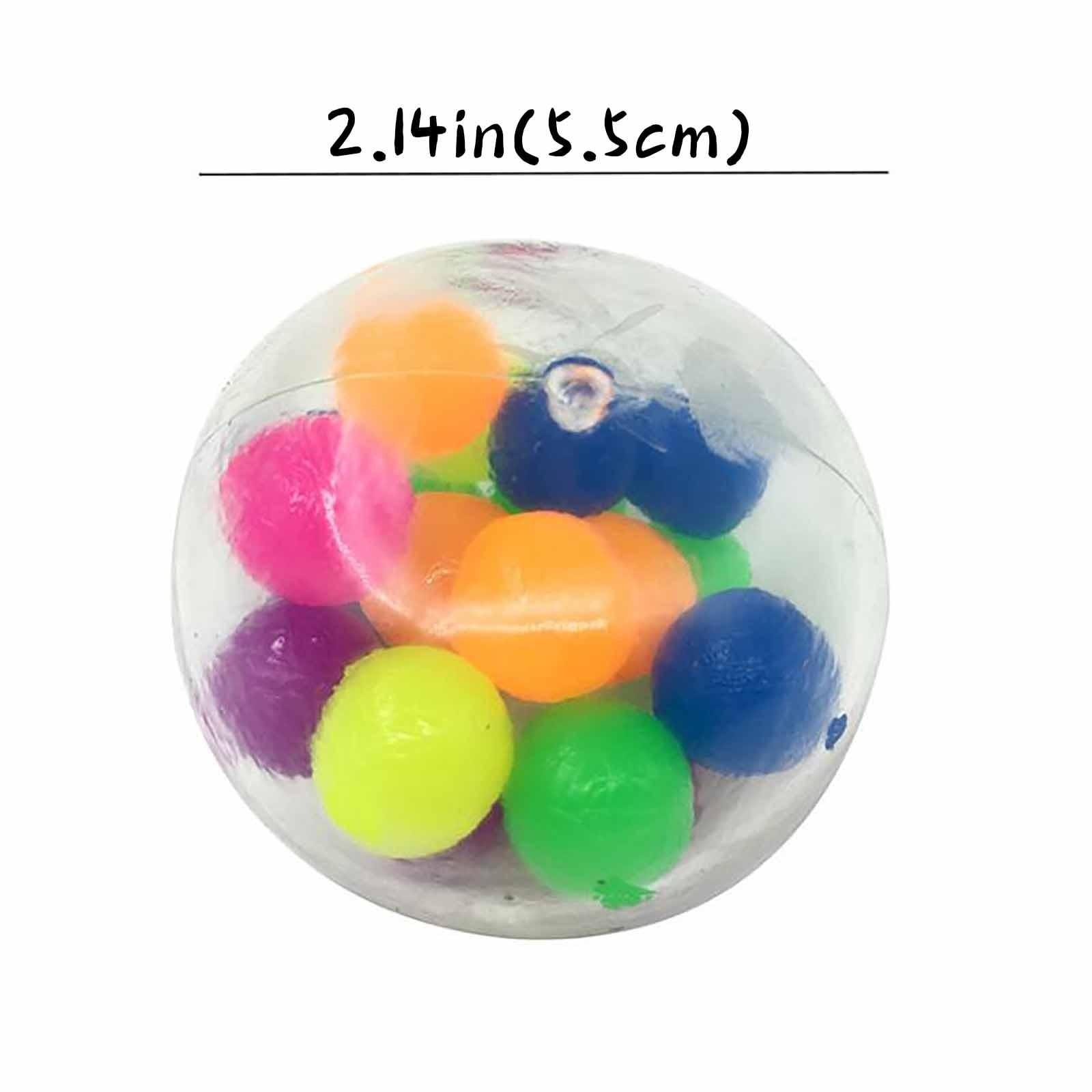 2021 New Fidget Anti Stress Toy 5pc Color Sensory Toy Office Stress Ball Pressure Ball Stress Reliever Toy(2ML)zabawki antysreso enlarge