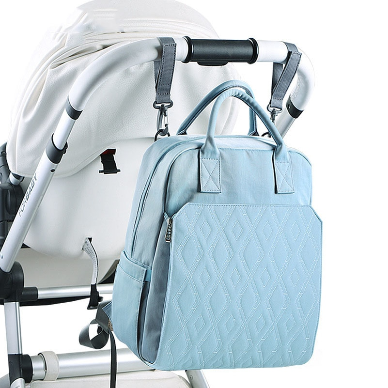 Купить с кэшбэком Large Capacity Diaper Bag Nappy Changing Backpack For Mom Stroller Organizer Mommy Bag Mummy Maternity Bag Handbag